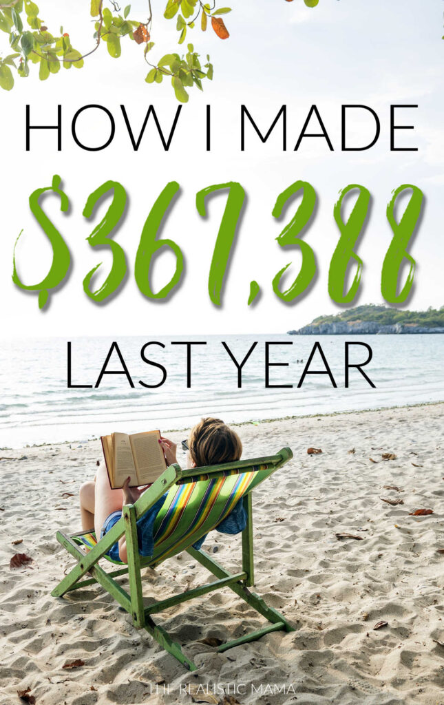 How I made $367,388 blogging last year